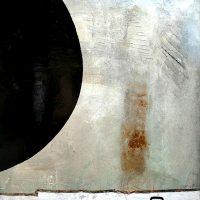 Betonpicture mondfinsternis-metall